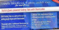 Sws sliding tabs add on for shortcodes with styles