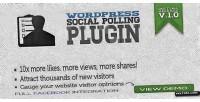 Social wordpress polling plugin