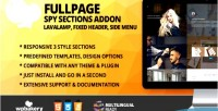 Spy fullscreen sections addon for page wpbakery builder composer visual formerly