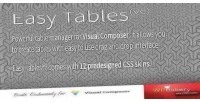 Easy tables table manager composer visual for