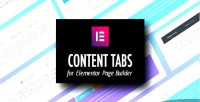 Tabs content for builder page elementor