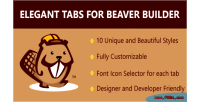 Tabs elegant builder beaver for