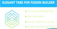 Tabs elegant builder fusion for