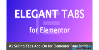 Tabs elegant for elementor