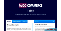Tabsy woocommerce smart responsive on add tabs