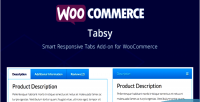 Tabsy woocommerce smart responsive on add tabs
