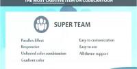 Team super composer visual for