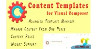 Templates content composer visual for