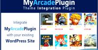 Theme myarcadeplugin integration