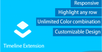 Timeline layer extension