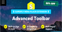Toolbar advanced superfly on menu add plugin