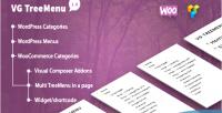 Treemenu tree menu for woocommerce & wordpress treemenu