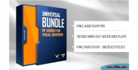 Universal bundle of addons composer visual for