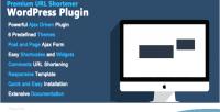 Url premium plugin wordpress shortener