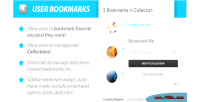 User wordpress userpro for bookmarks