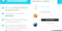 User wordpress userpro for bookmarks