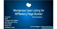 Users wordpress addon for page wpbakery builder composer visual