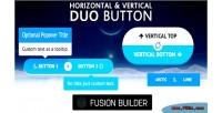 Vertical horizontal duo button for element fusion v5 avada