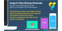 Video image shortcode mockups device