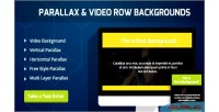 Video parallax backgrounds composer visual for