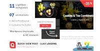 View quick post plugin ajax wordpress loading