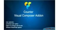 Visual counter composer addon