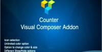 Visual counter composer addon