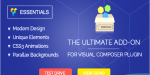 Visual essentials composer addon
