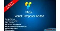 Visual jag addon faq composer