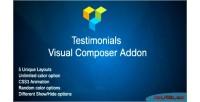 Visual jag addon testimonials composer