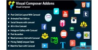 Visual saragna composer addons