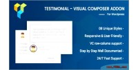 Visual testimonial composer addon