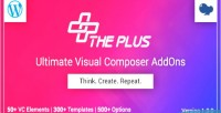 Visual theplus composer addons