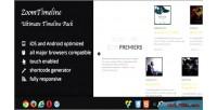 Visual zoomtimeline pack timeline composer