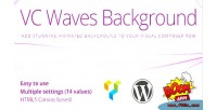 Waves vc background