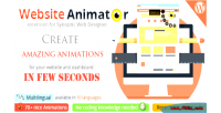 Web synoptic designer extension animator website