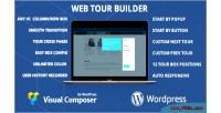 Web tour builder for wordpress composer visual