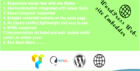 Website wordpress embedder suppor composer visual