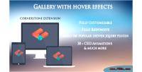 With gallery hover effects