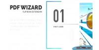 Wizard pdf responsive extension wp flipbook