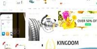 Woocommerce kingdom theme affiliates amazon