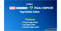 Woocommerce ultimate page templates visual builder on add composer