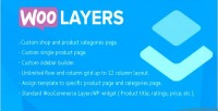 Woocommerce woolayers page layerswp for builder