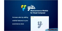 Woocommerce yith wishlist composer visual for