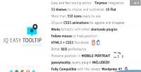 Wordpress jqeasytooltip tooltip plugin