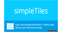 Wordpress simpletiles plugin