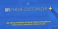Wp bfi customizer theme