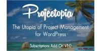 Wp projectopia project on management add subscriptions