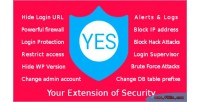Your yes security of extension
