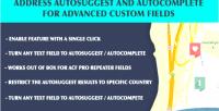 Address acf autocomplete & autosuggest